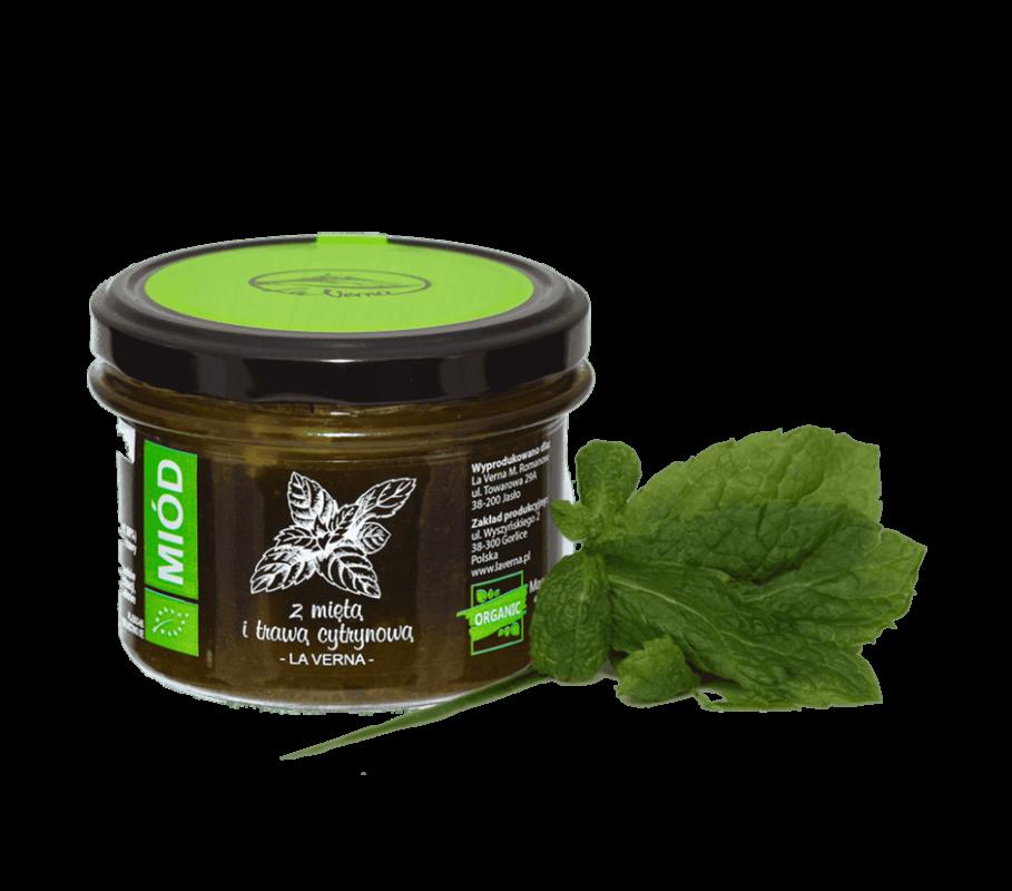 laverna-miod-honey-mieta-trawa-cytrynowa-eco-bio-organic